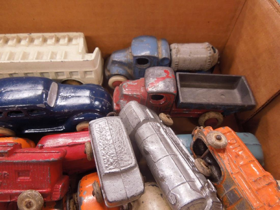 Large Lot of Metal Toy Vehicles - 4