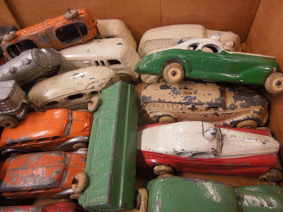 Large Lot of Metal Toy Vehicles - 5
