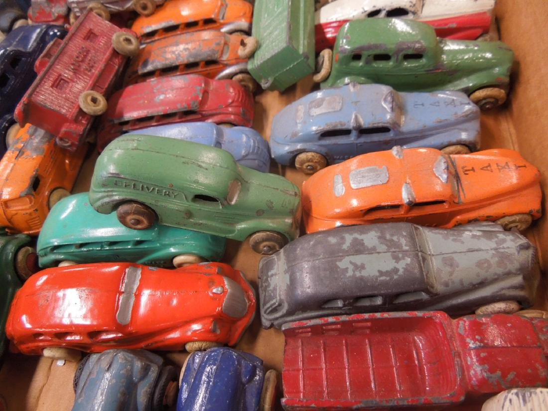 Large Lot of Metal Toy Vehicles - 6