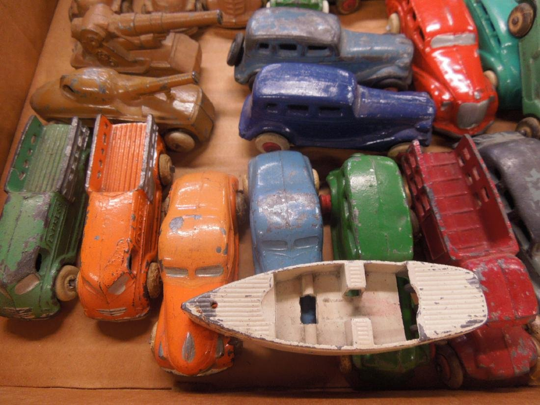 Large Lot of Metal Toy Vehicles - 7