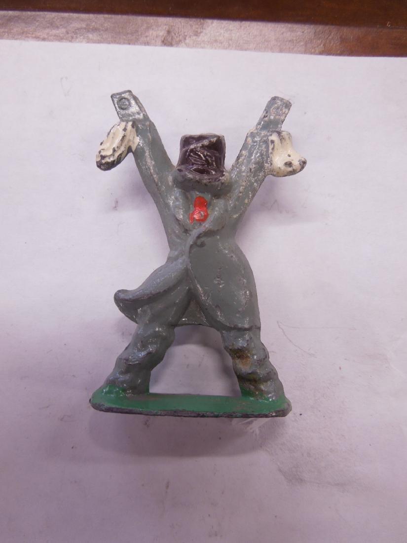 2 Rare Manoil Metal Scarecrow Figures - 2