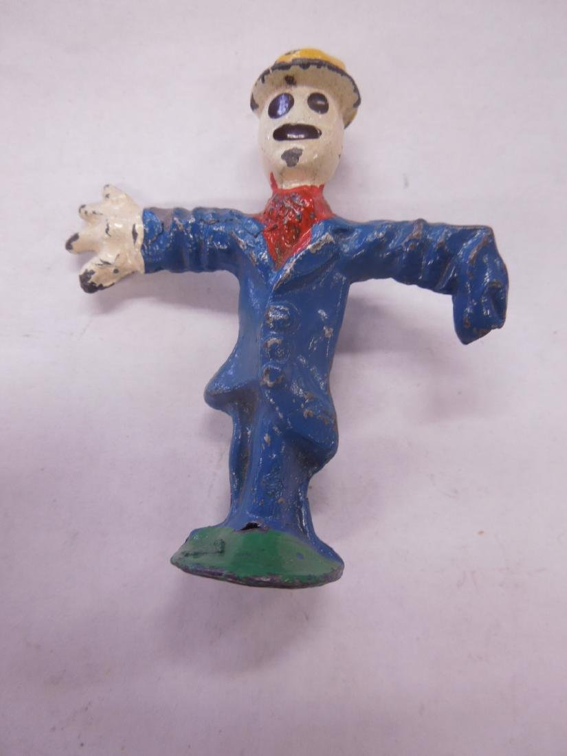 2 Rare Manoil Metal Scarecrow Figures - 3