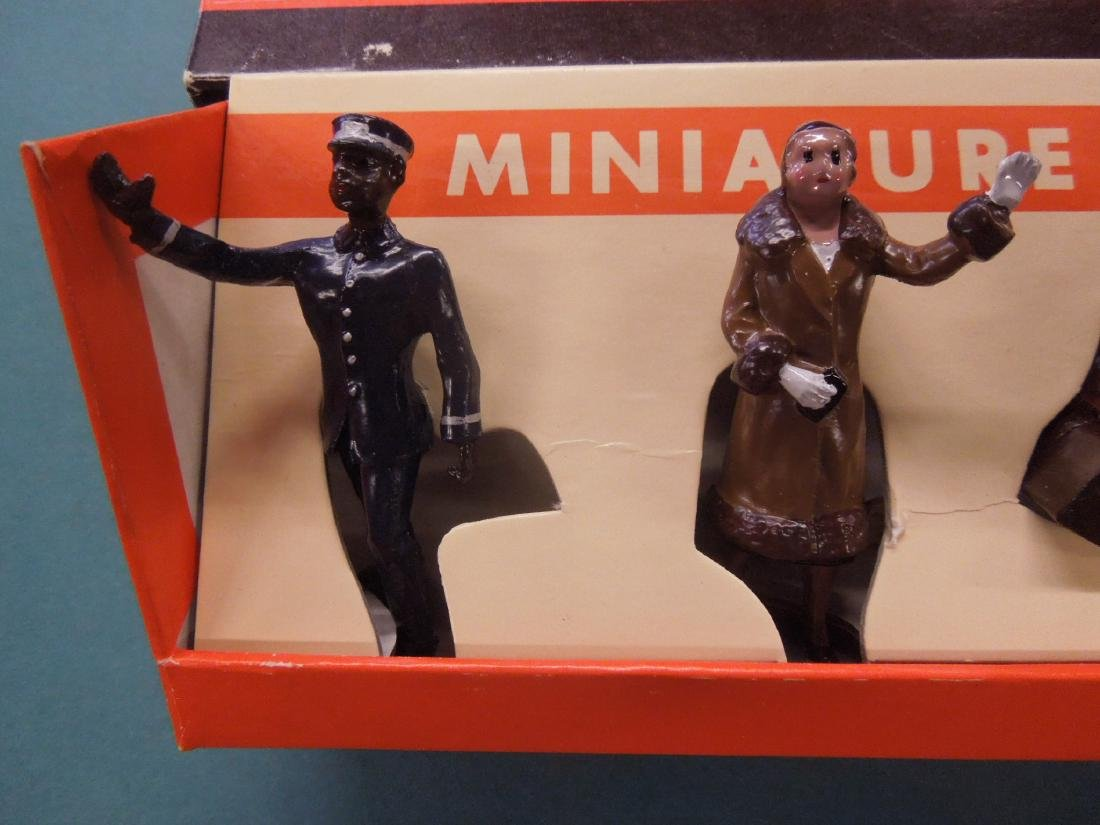 6 Metal Miniature R.R. Figures in Box - 2