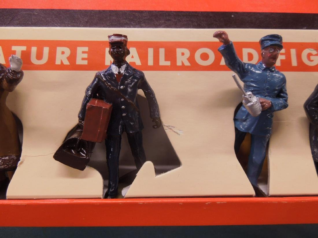 6 Metal Miniature R.R. Figures in Box - 3