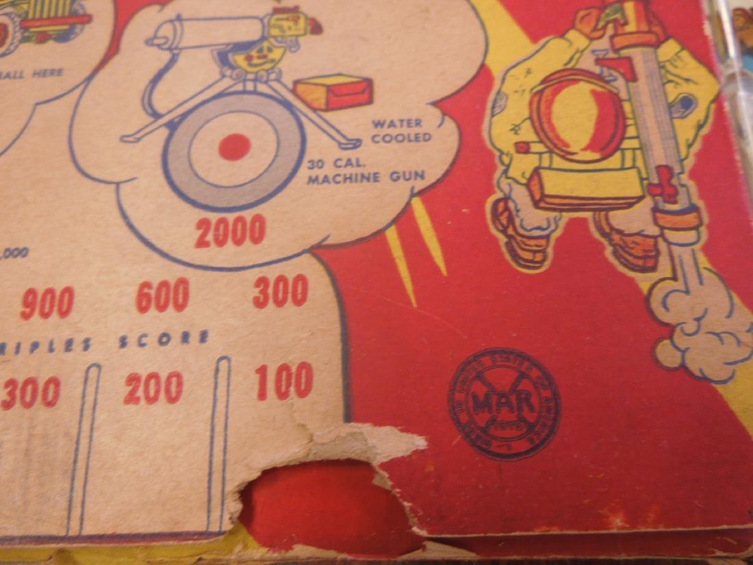 Marx Bazooka Bagatelle Pinball Game - 3