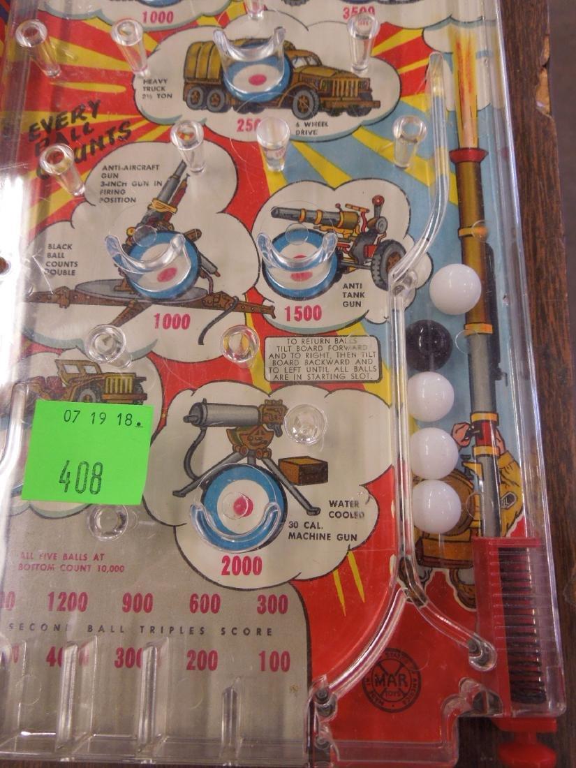 Marx Bazooka Bagatelle Pinball Game - 4