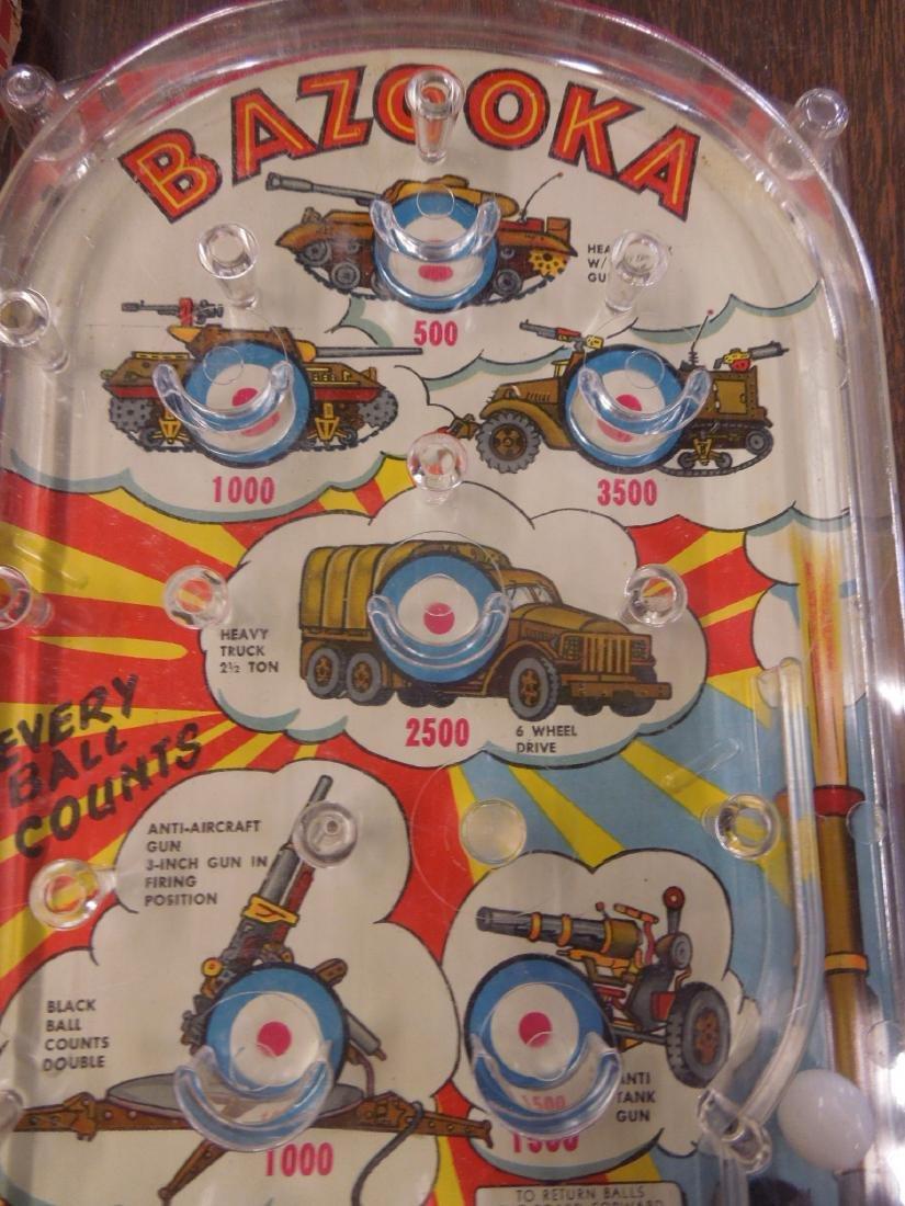 Marx Bazooka Bagatelle Pinball Game - 5