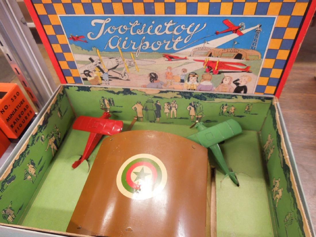 Vintage Tootsietoy Airport