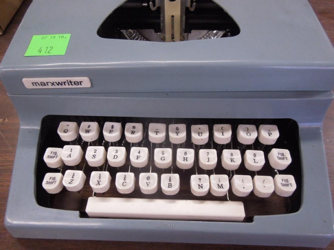Vintage Marx Writer Typewriter - 2