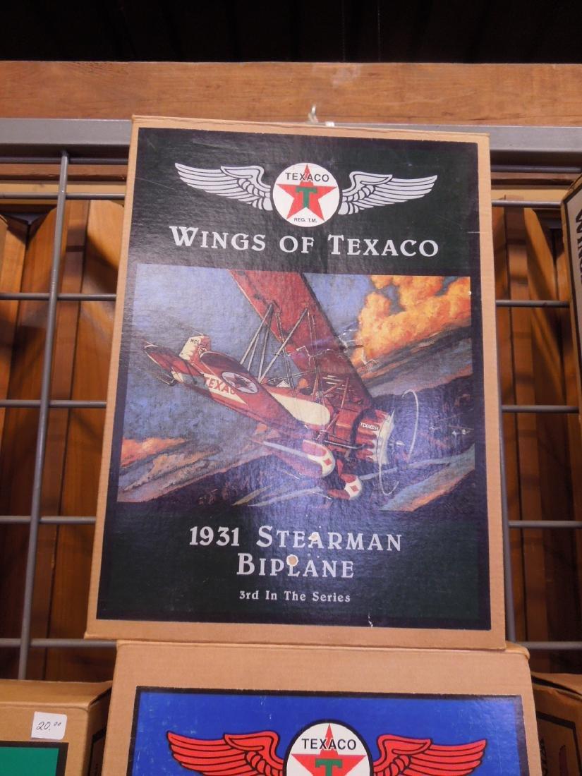 14 Texaco Die Cast Metal Planes - 3