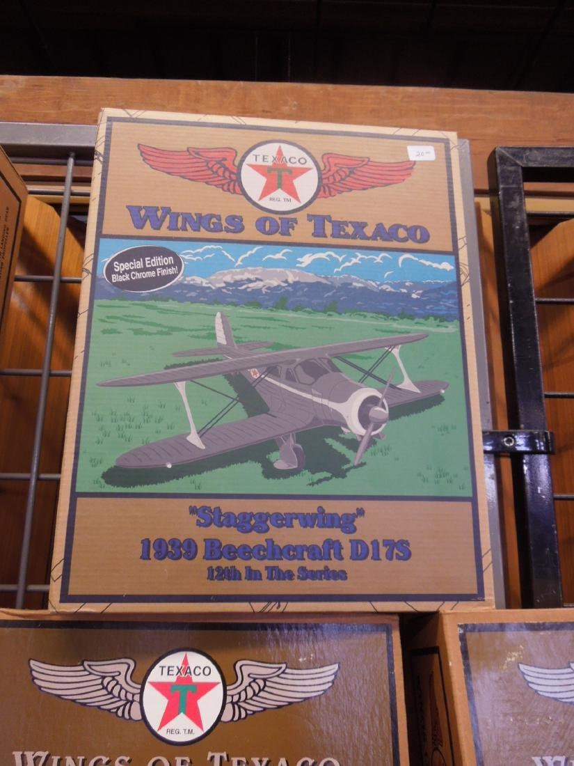 14 Texaco Die Cast Metal Planes - 5