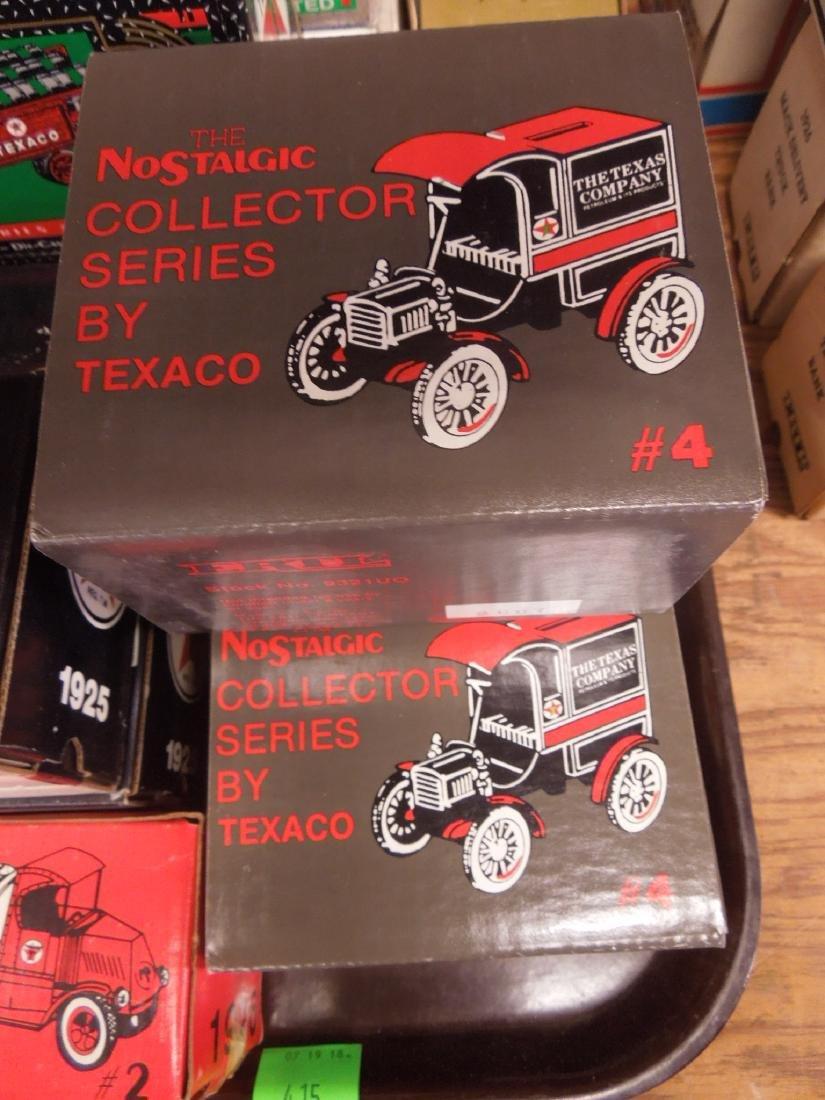 14 Ertl Collector Series Texaco Banks - 2