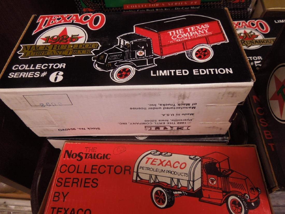 14 Ertl Collector Series Texaco Banks - 3