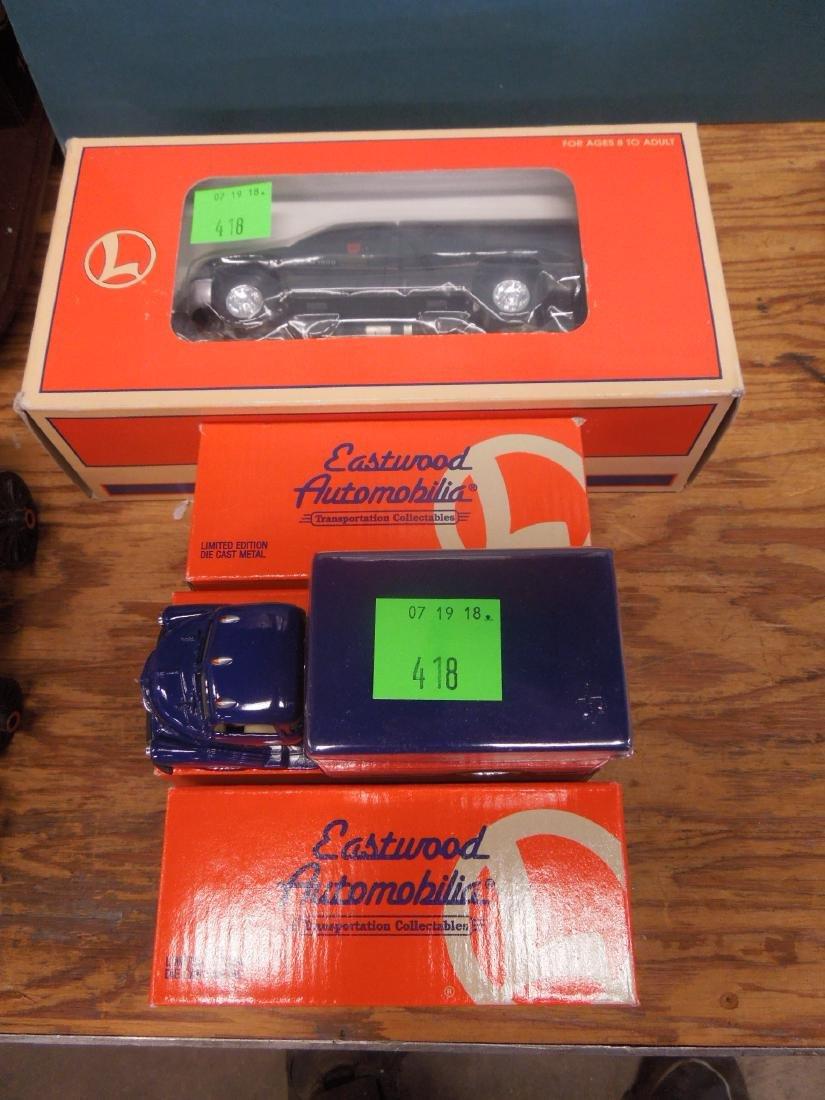 4 Lionel Vehicles in Original Boxes