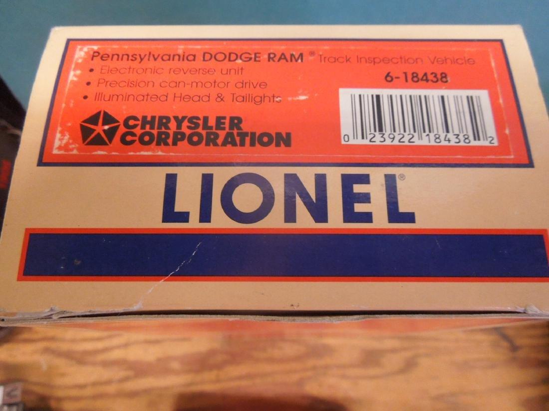 4 Lionel Vehicles in Original Boxes - 4