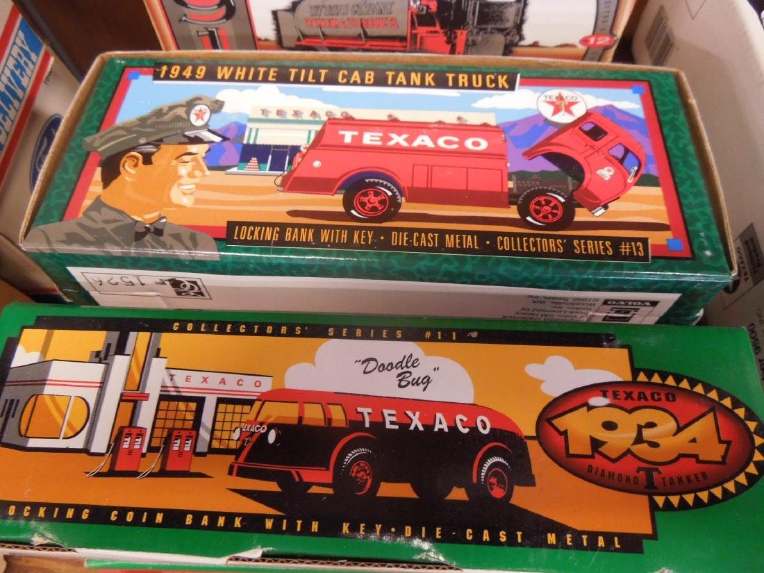 10 Ertl Texaco & Other Truck Bank's - 2