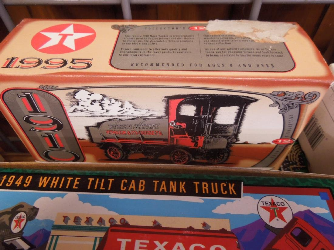 10 Ertl Texaco & Other Truck Bank's - 3