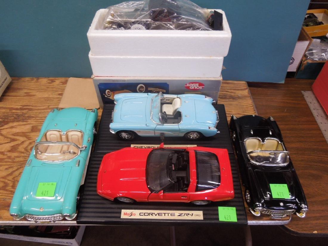 Maisto & Other Scale Corvettes & Radio