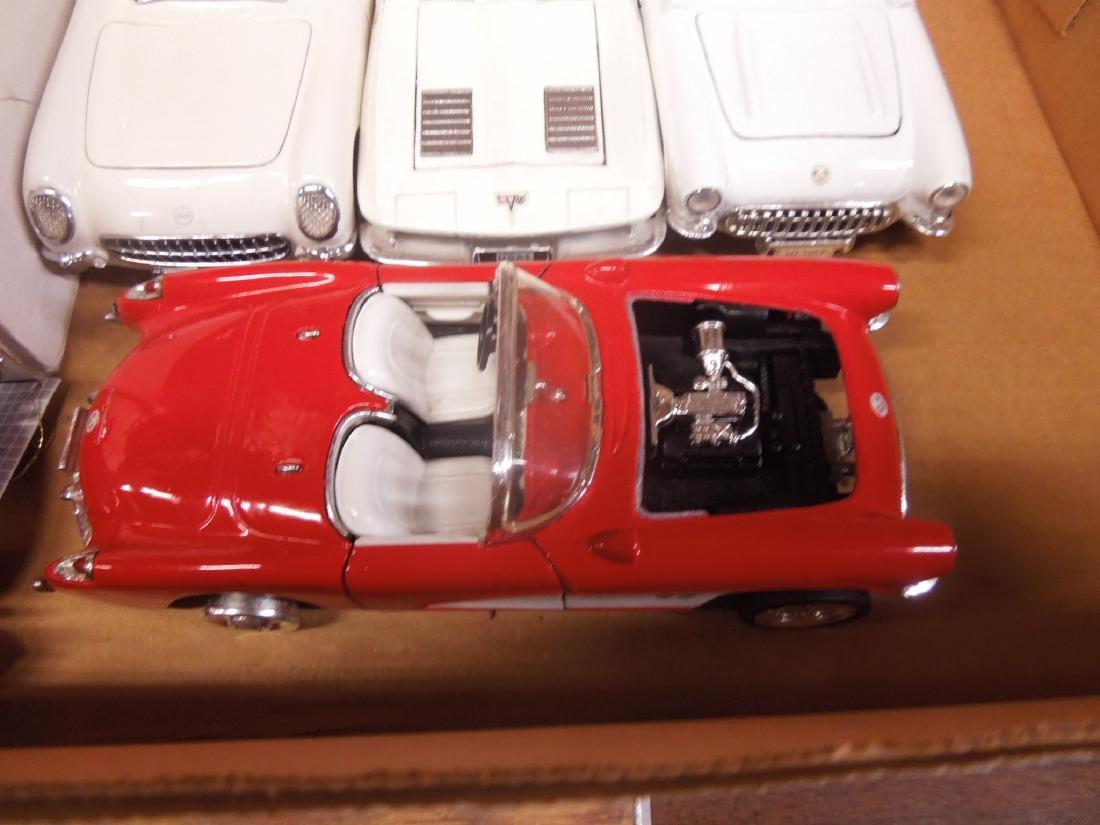 7 Die Cast Metal Scale Automobiles - 4