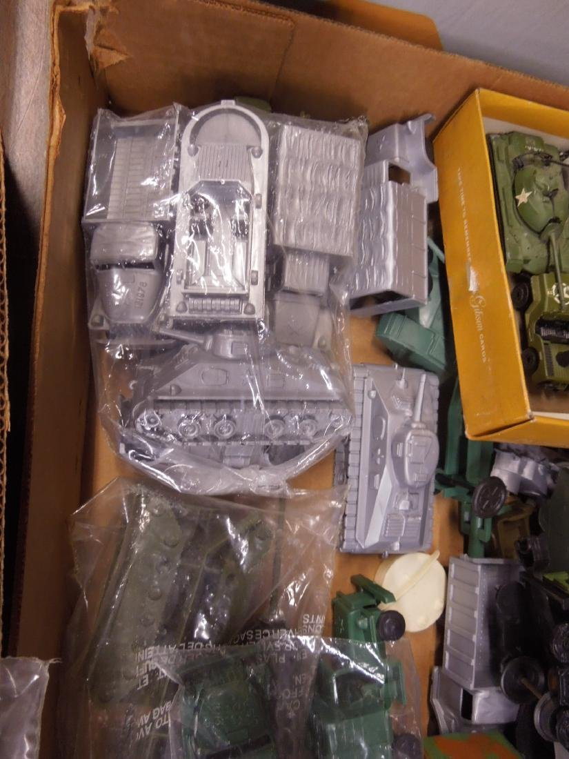 Assorted Toy Plastic Military Vehicles - 3