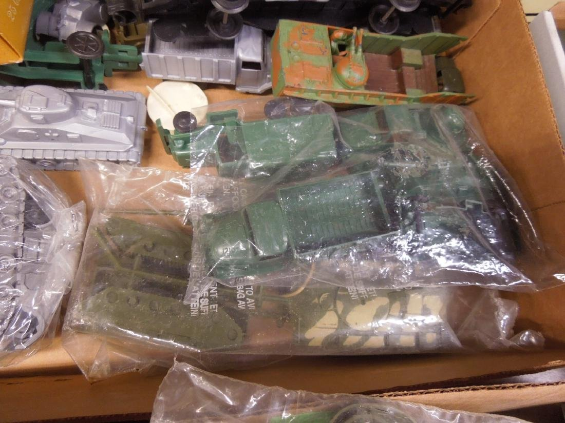 Assorted Toy Plastic Military Vehicles - 4