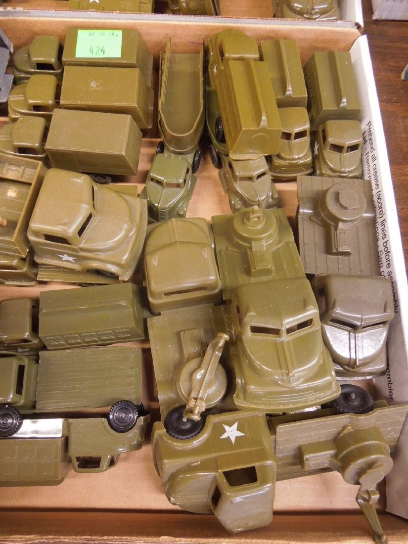 Lot Pyro Plastic Military Vehicles - 3