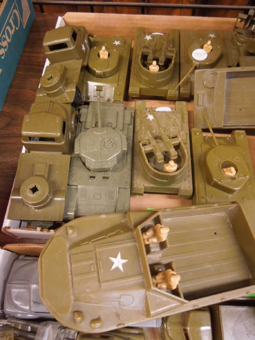 Lot Pyro Plastic Military Vehicles - 5