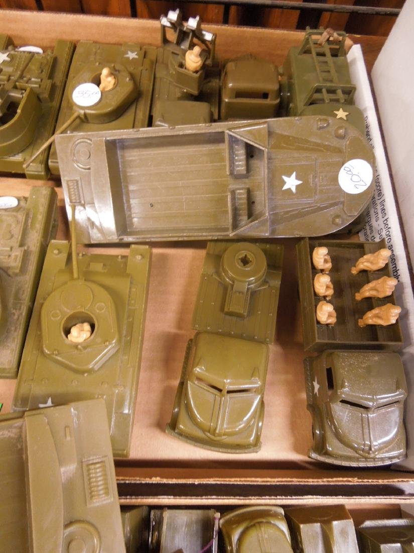 Lot Pyro Plastic Military Vehicles - 6