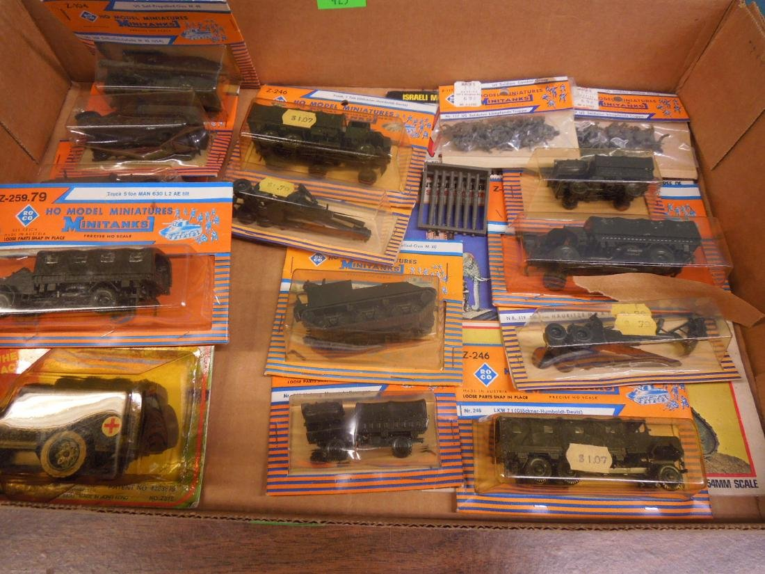 Assorted Military Vehicles Figures