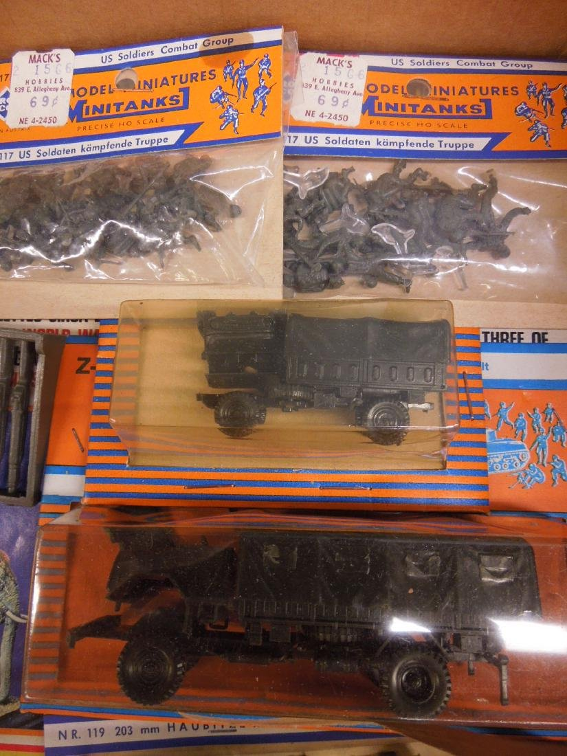 Assorted Military Vehicles Figures - 2