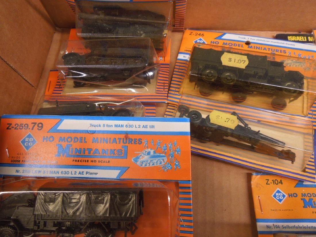 Assorted Military Vehicles Figures - 4