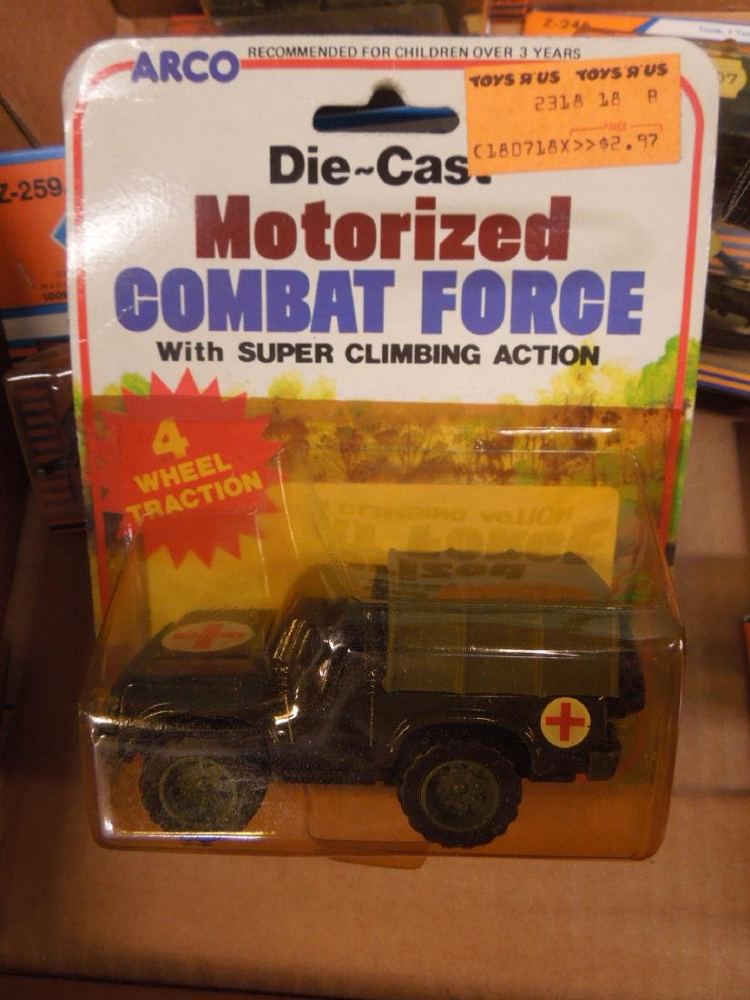 Assorted Military Vehicles Figures - 5