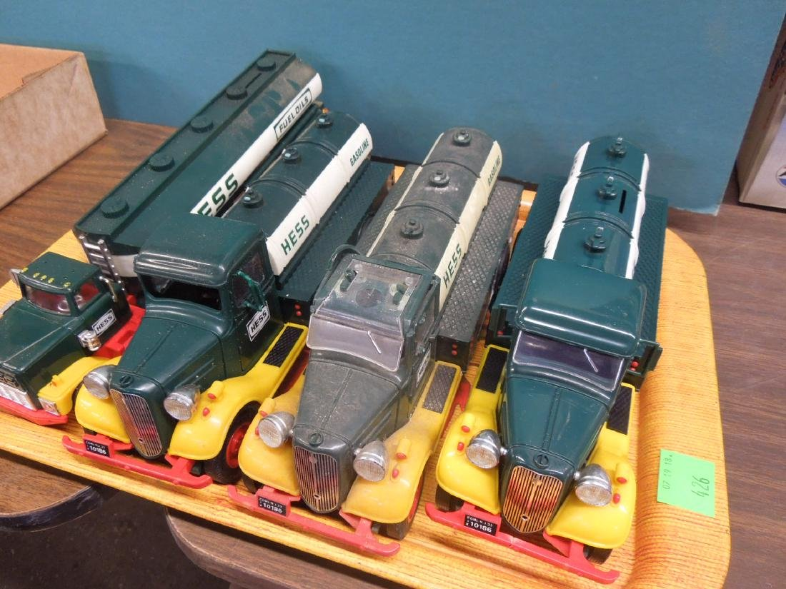 4 used Hess Truck Vehicles