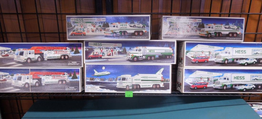 8 Hess Toy Truck in Original Boxes