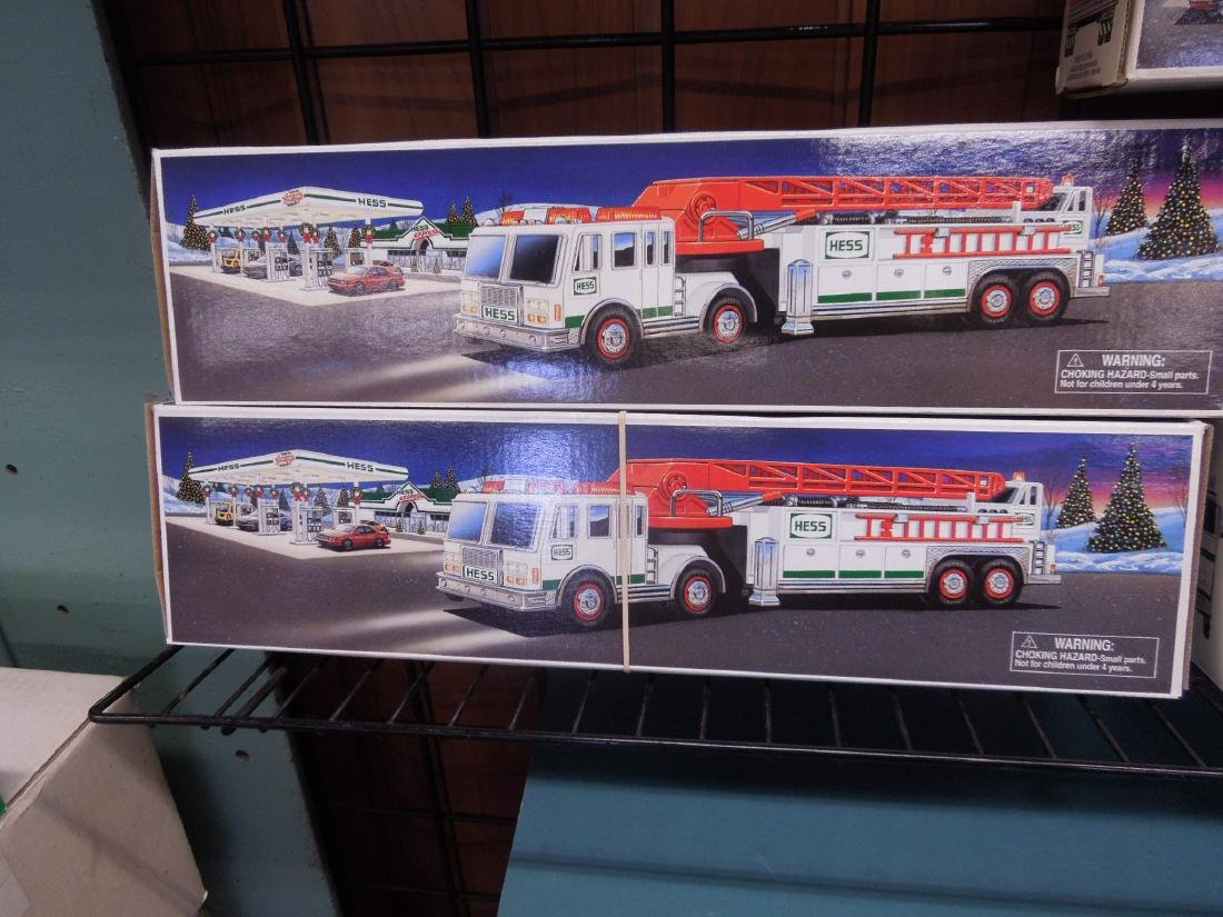 8 Hess Toy Truck in Original Boxes - 2