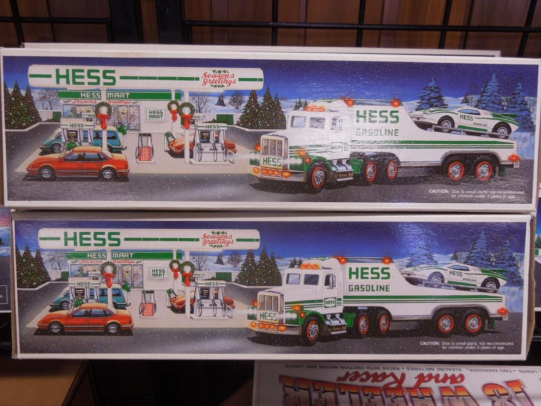 8 Hess Toy Truck in Original Boxes - 3