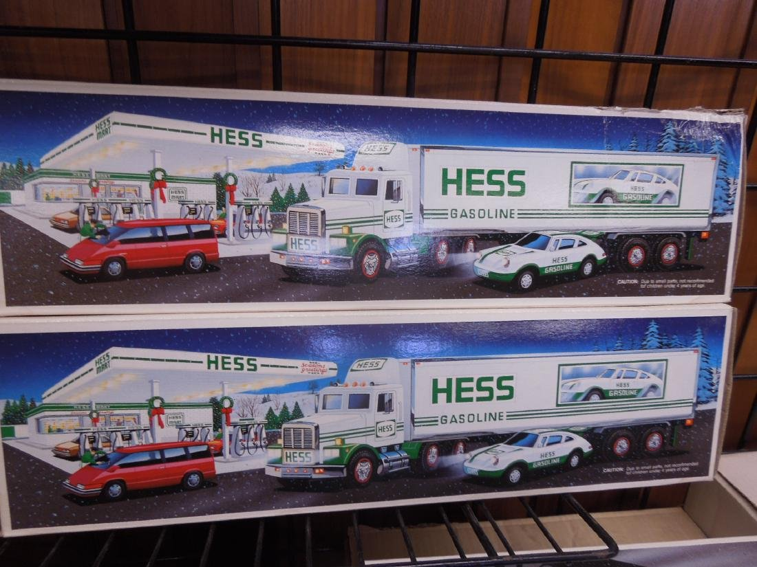 8 Hess Toy Truck in Original Boxes - 4