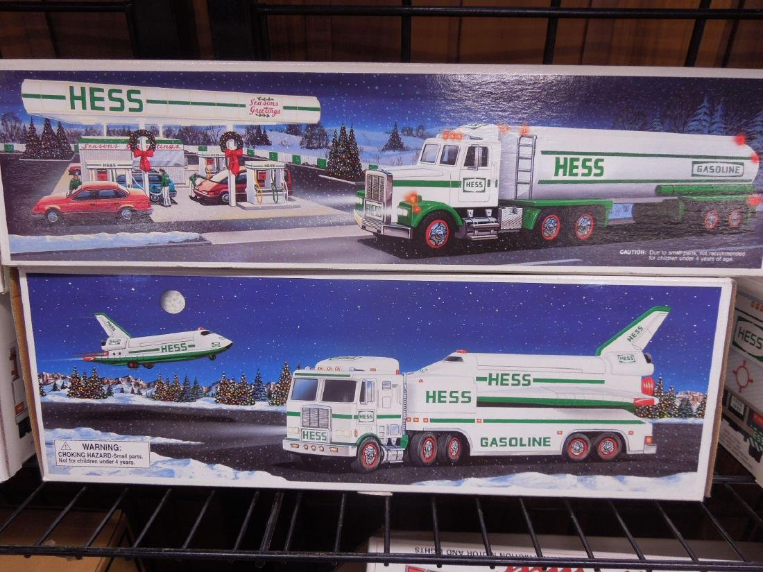 8 Hess Toy Truck in Original Boxes - 6