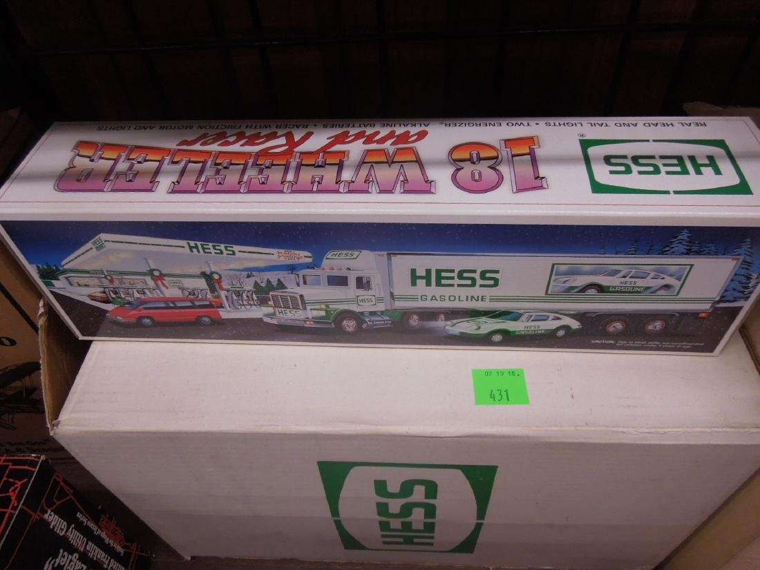 Cases of Hess Trucks in Original Boxes - 2