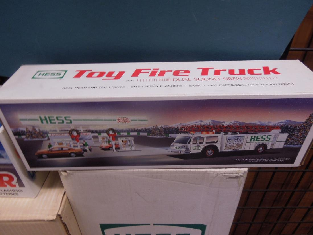 Cases of Hess Trucks in Original Boxes - 4