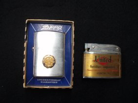 1002: Zippo & Jewel advertising lighters