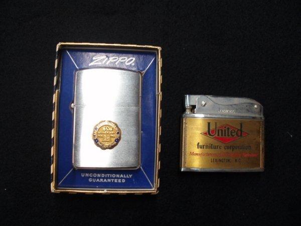 1002: Zippo & Jewel advertising lighters