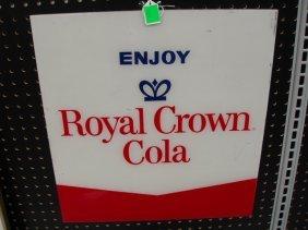 Royal Crown Cola Soda Machine Insert