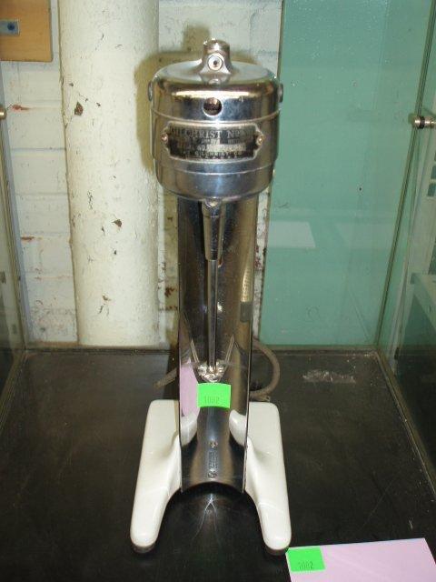 1082: 1950's Gilchrist milk shake machine