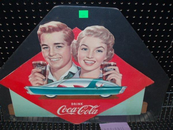 1084: 1950's Coca-Cola festoon top