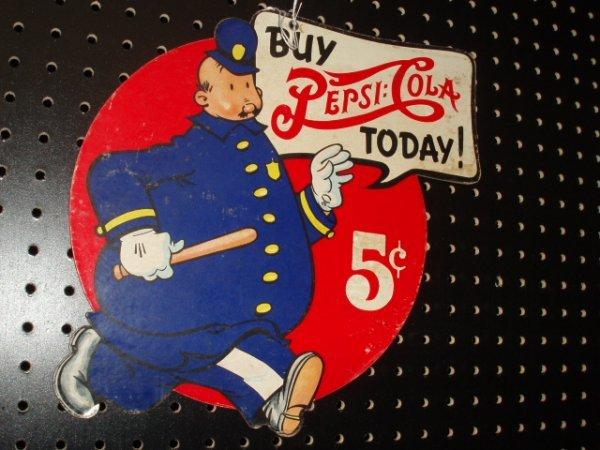 1088: Reproduction  Pepsi Cola  festoon  pc.