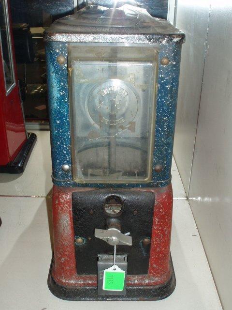 1115: Victor Topper Deluxe gumball machine