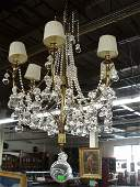 2050 Contemporary crystal  brass Chandelier