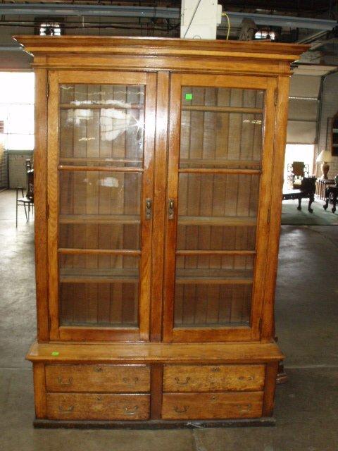 2052: Golden Oak Bookcase