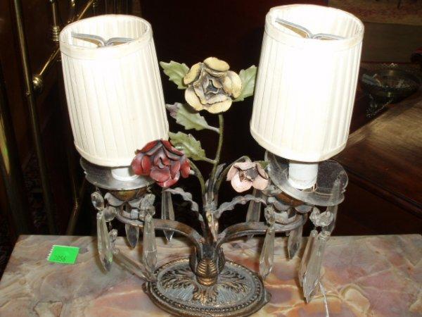 2055: Pr of small candelabra